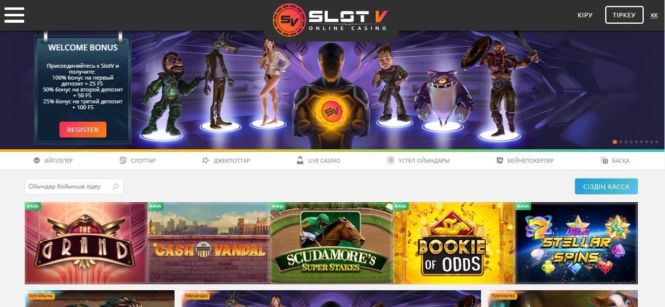 обзор казино slotv
