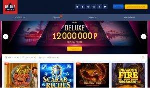 Обзор онлайн казино Deluxe